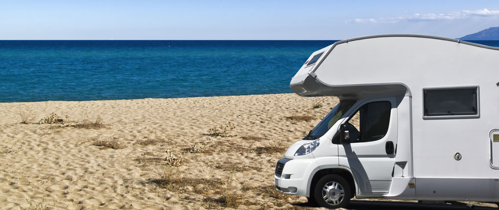 Motohome hire beach holidays